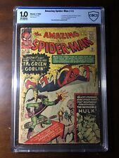 Amazing Spider-Man #14 (1964) - 1st Green Gobliin!  - CBCS 1.0 (not CGC) - Key!