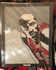 "Michael Jordan Oil Painting on Canvass 20"" x 24"" #MJ02"