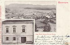 Slovenia Slowenien Slovenj Gradec Windischgraz Foto Hugo Wolf 1903 Marke RRR