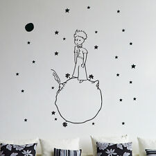 Little prince wall decal vinyl sticker christmas kids children art silhouette