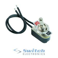 On-Off Prewired Toggle Switch SPST 6A