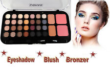 Eyeshadow Blush Bronzer Combo Palette Eye Shadows Face Makeup Beauty 32 Colours