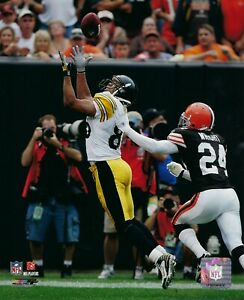 HINES WARD 8X10 PHOTO PITTSBURGH STEELERS PICTURE FOOTBALL NFL GAME ACTION