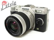 [EXC] Pentax Q7 Silver w/02 5-15mm Zoom Lens Kit Digital Camera