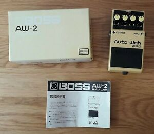 Boss AW2 1996 Auto Wah guitar effects pedal MIT Silver Label AW-2