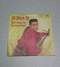 ELVIS PRESLEY: All Shook Up US RCA 47-6870 Rockabilly Original 45 Cover