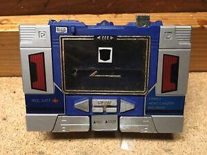 Soundwave Transformers Original G1 1984 Rubsign