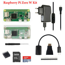Raspberry Pi Zero W 1GHz 512M DIY Kit Power Supply + 5MP Camera + Case +16G Card