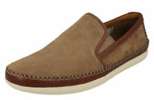 Zapatos informales de hombre mocasines Clarks ante