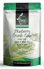 Blueberry Crumb Cake Green Tea, 1 oz. Includes 10 Free Tea Bags