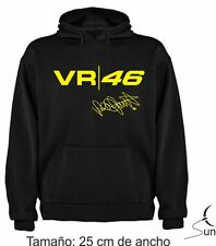 SUDADERA VALENTINO ROSSI MOTO GP THE DOCTOR THE BEST CAMPEON HOODIE SIL Dm012