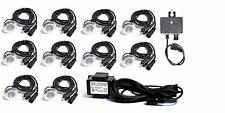 Blue LED Transformer Photocell Landscape Lighting Outdoor Deck Garden Yard 10pk