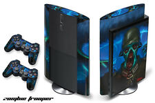Skin Decal Wrap 4 Ps3 PlayStation Gaming Console Controller 3 Super Slim Weed W