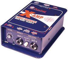 Radial XAmp Active Re-Amplifier Class-A Dual Output X-Amp MINT CONDITION