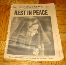 June 9 1968 Sunday NEWS Picture Newspaper Robert Kennedy Funeral REST IN PEACE