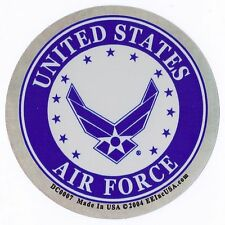 UNITED STATES AIR FORCE - NEW LOGO - FOIL STICKER