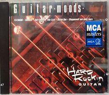 Various Artists - Guitar Moods: Hard Rockin' Guitar Volume 4 (CD 1993) Rock Comp