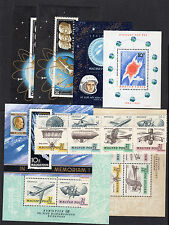 1962-1968 Hungary Space & Aviation Collection, Souvenir Sheets & Strips - MNH**