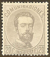 EDIFIL. 1872. AMADEO I. Nº 123. NUEVO. MUY BONITO. (5)