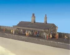 More details for ratio 204 - station building only n gauge plastic kit new boxed tracked 48 post