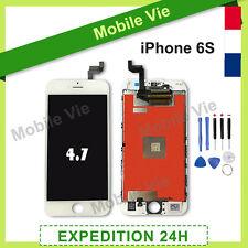 ECRAN VITRE TACTILE + LCD RETINA SUR CHASSIS POUR IPHONE 6S BLANC +OUTILS +FILM