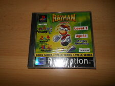RARE, SEALED, PS1 RAYMAN JUNIOR LEVEL 1 pal version