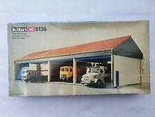 Kibri H0 8136 Fahrzeughalle OVP