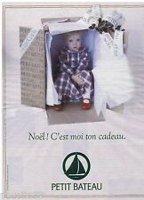 PUBLICITE ADVERTISING 105  1993  PRENATAL   vetements enfants  CADEAU NOEL