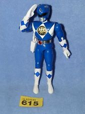 "Power Rangers Mighty Morphin Ranger Original 8"" Azul Karate + pistola 615"