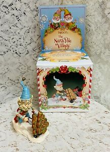 Enesco North Pole Village ELF FRONSIE 1992 Zimnicki  830895 w/Box Bakery Series