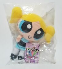 The Powerpuff Girls Cartoon BUBBLES Toy Connection Plush New in bag with tags