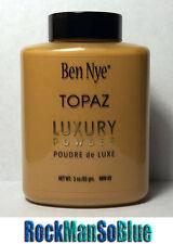 Ben Nye Topaz Powder 3 oz Bottle Authentic Translucent Face Makeup