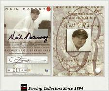 Neil Harvey Select Cricket Trading Cards