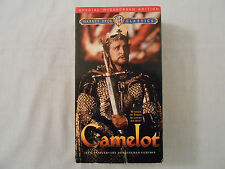 CAMELOT Movie on 2 VHS Tapes: Musical/Richard Harris/Original/Collectible