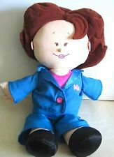 Talking ROSIE O'DONNELL PLUSH DOLL Tyco 1997 Good Condition FREE SH