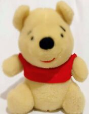 """Sears By Guns Winnie the Pooh 10"""" Plush Red Sweater"""