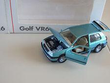 SCHABAK 1:43 VW Golf 3 vr6 MK III 1 H vr6 3 porte 3 Doors turquoise Turquoise neuf dans sa boîte