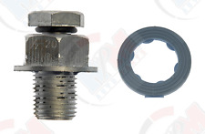 OVERSIZE Piggyback 1/2x20 Oil Drain Plug with Gasket 65208 for Jeep Dodge