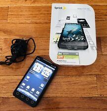 HTC EVO 4G LTE - Sprint - Android Smartphone W/ BOX MANUALS