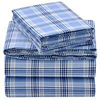 "13"" Deep Pocket Cotton Flannel Sheet Set by EnvioHome"