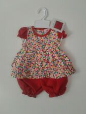 Baby girls clothes dress bloomers set 6-9 months