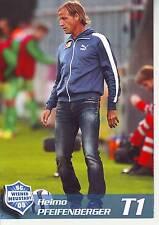 FOOTBALL carte entraineur HEIMO PFEIFENBERGER équipe WIENER NEUSTADT