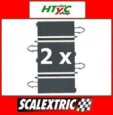 SCALEXTRIC DIGITAL ORIGINAL PACK 2 X RECTA 90 MM COMPATIBLES SCX B02013X200