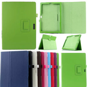 Premium PU Leather Folding Folio Stand Case Cover For Microsoft Surface Tablet