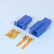 Quality 2 Way 2.8mm Mini Electrical Connector Kit Blue Motorbike Motorcycle Car