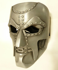 Dr Doom Mask Coldcast Aluminum Comic Book reproduction Cosplay