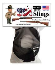 Rifle Sling Black Mil.Spec Edition - 2 Point Gun Sling