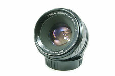 Vintage Lens KONICA HEXANON AR 52 mm f1.8 Konica Ar Mount ref.38155