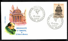 """(Ref-7157) Italy 1971 Bramante's """"Little Temple""""  SG.1280   First Day Cover"""