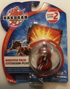 NIB 2008 Bakugan Booster Pack Red Pyrus Battle Brawlers Series 2 Unidentified